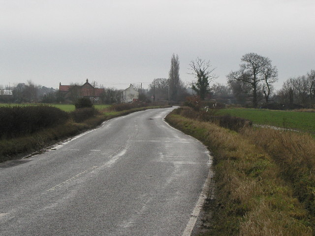 The road to Elvington