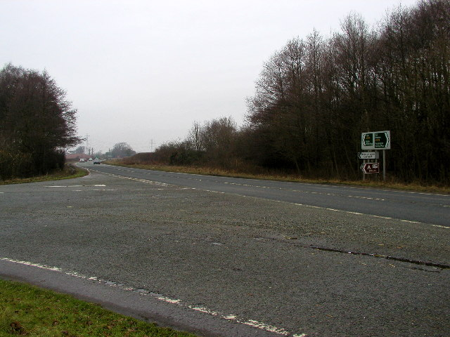 A1079 road junction