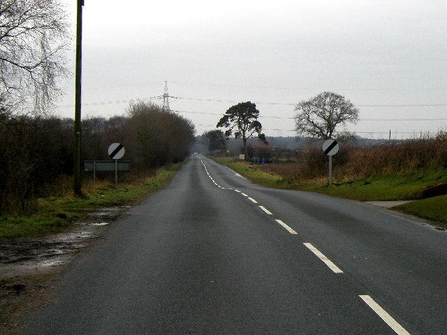 The road to Sutton-upon-Derwent