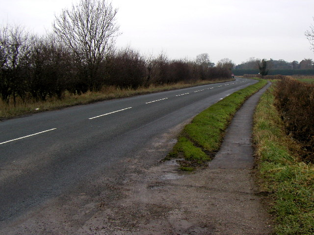 The road to Barmby Moor
