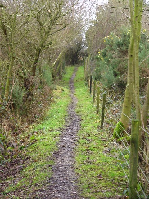 Footpath near Woodside Farm