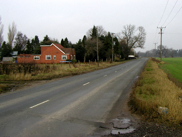 The B1247 to Pocklington
