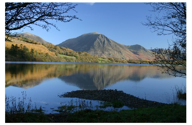 Loweswater from Holme Wood