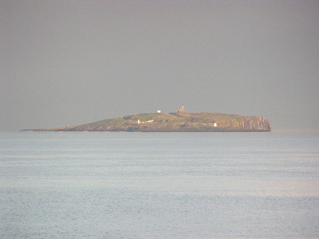 Isle of May as seen from Crail