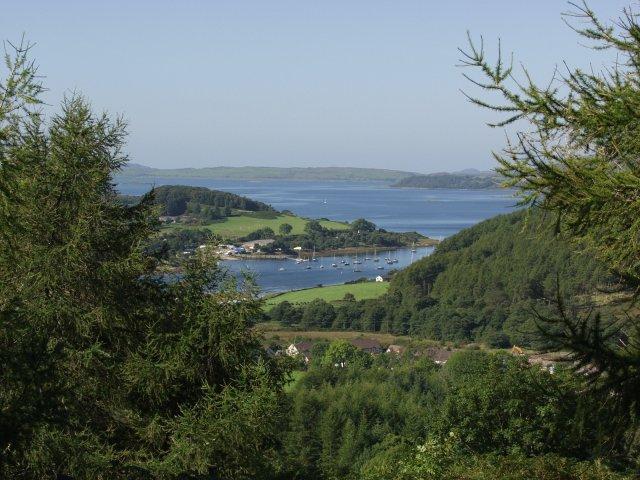 Jura and the Garvellachs beyond Kilmelford