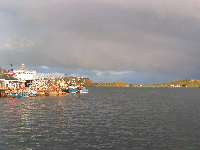 Oban Bay at 6am