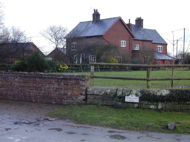 Cotton Hall Farm, Cotton Edmunds.