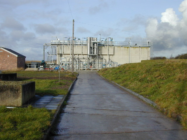Tarvin Water Treatment Works.