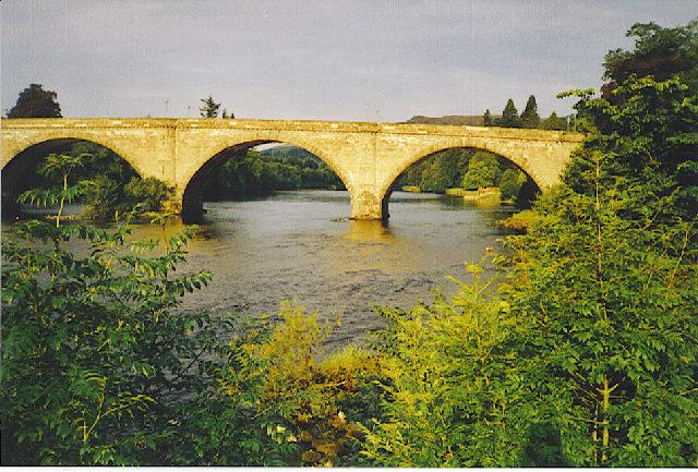 Tay Bridge, Dunkeld