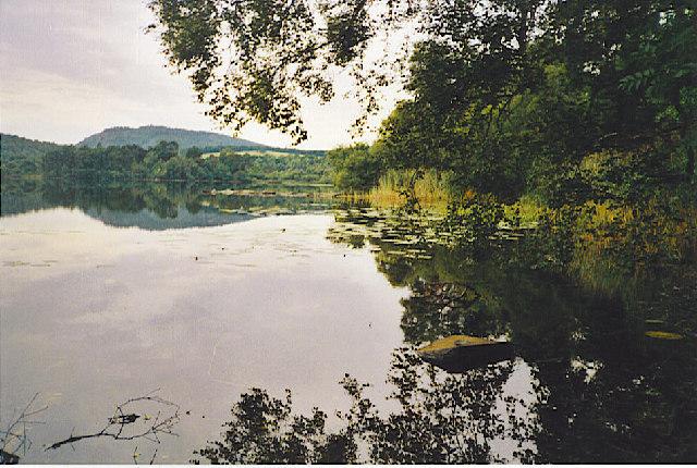 Loch of Craiglush in summer