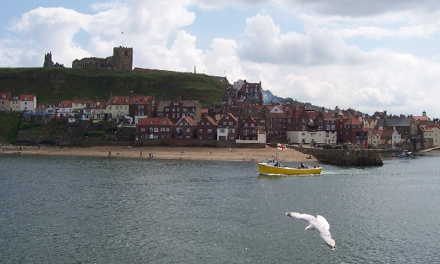 Whitby, View Across the Harbour