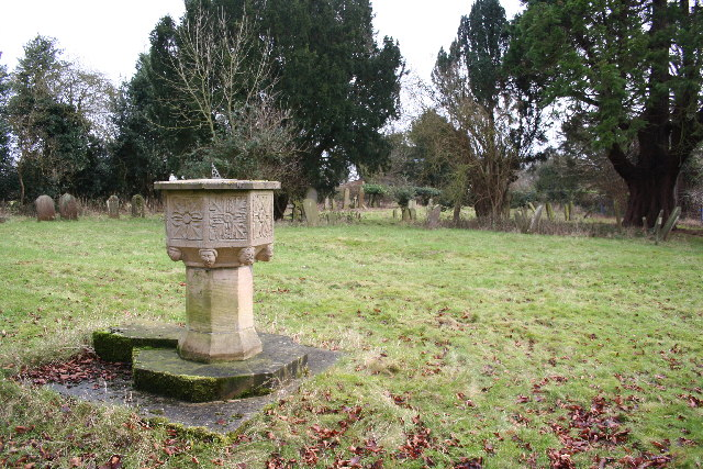 St.Edith's churchyard, South Reston, Lincs.