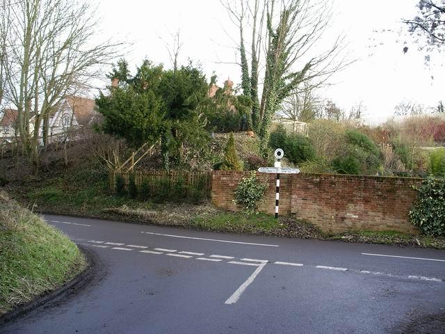 Signpost at Avington