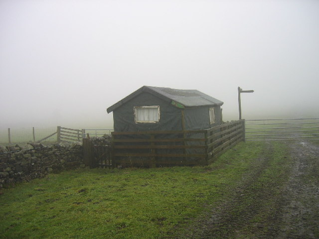 Summer House (Hut) on the Pennine Way