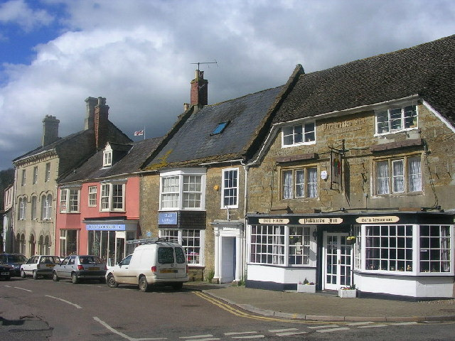 Beaminster Town Centre