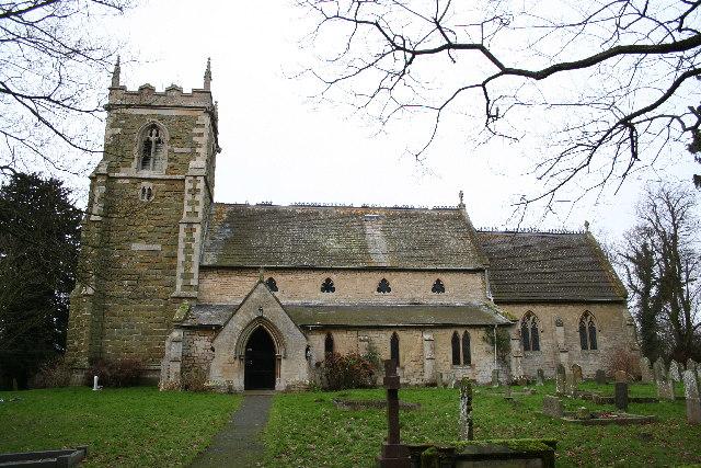 St.John the Baptist's church, Great Carlton, Lincs.