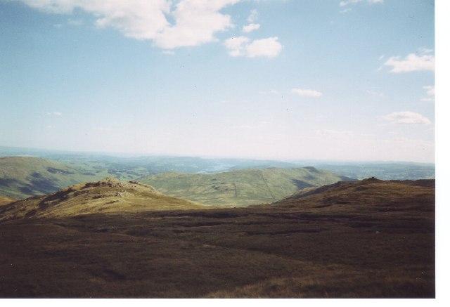 Looking South Caudale Moor