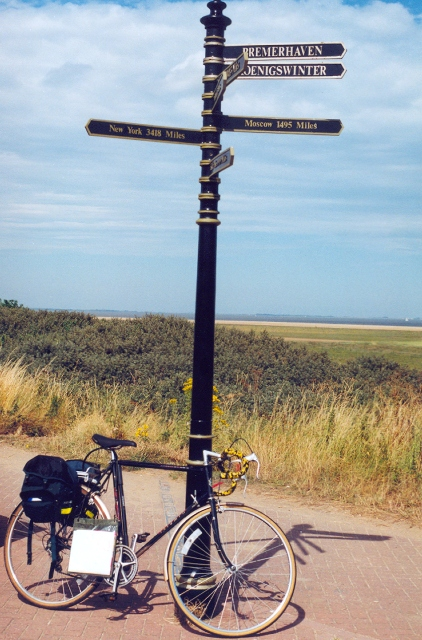 Meridian marker at Cleethorpes