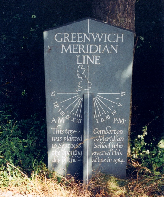 Meridian marker