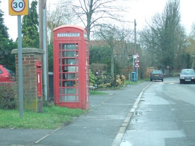 Main Street of Fifield Village