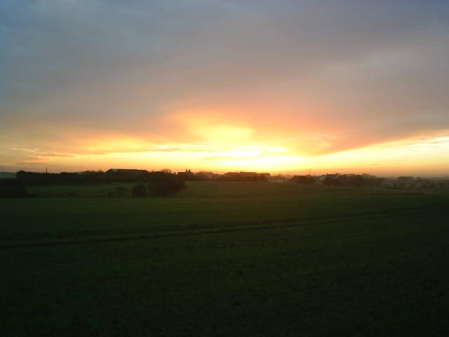 Sunrise at Tunstall
