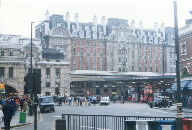 London Victoria.