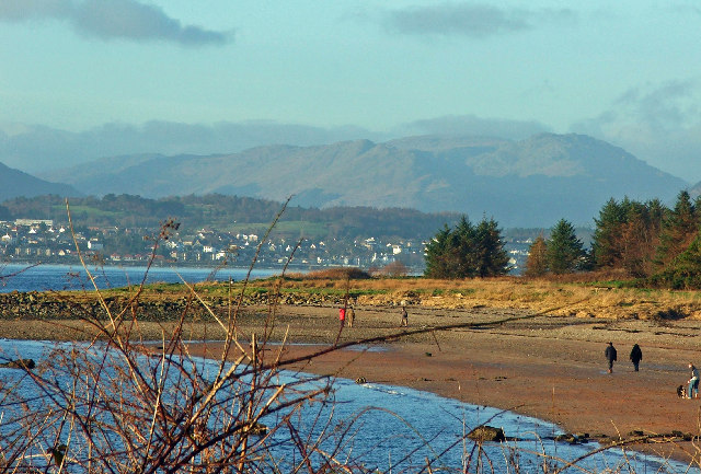 Lunderston Bay towards Dunoon