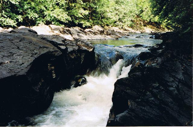 River Tilt north of Bridge of Tilt