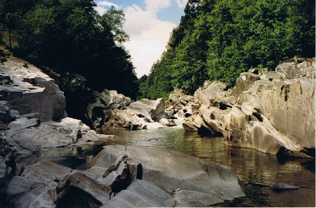 River Garry west of Struan