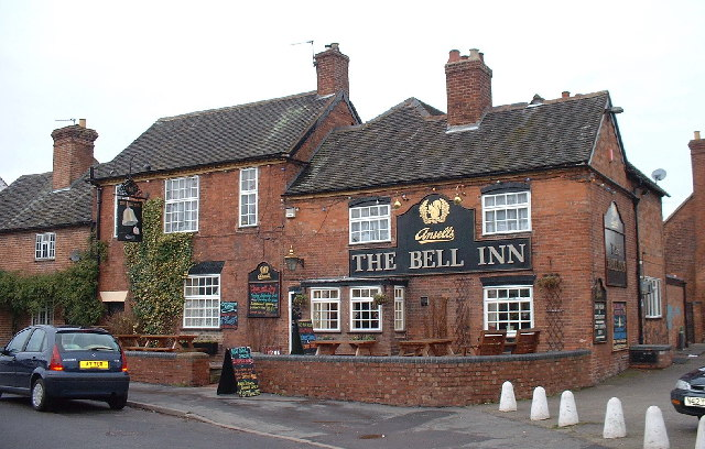The Bell Inn, Main Street, Whittington, nr Lichfield