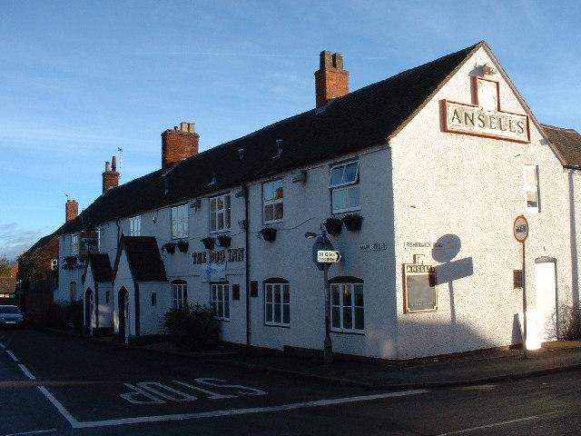 The Dog Inn, Main Street, Whittington, nr Lichfield