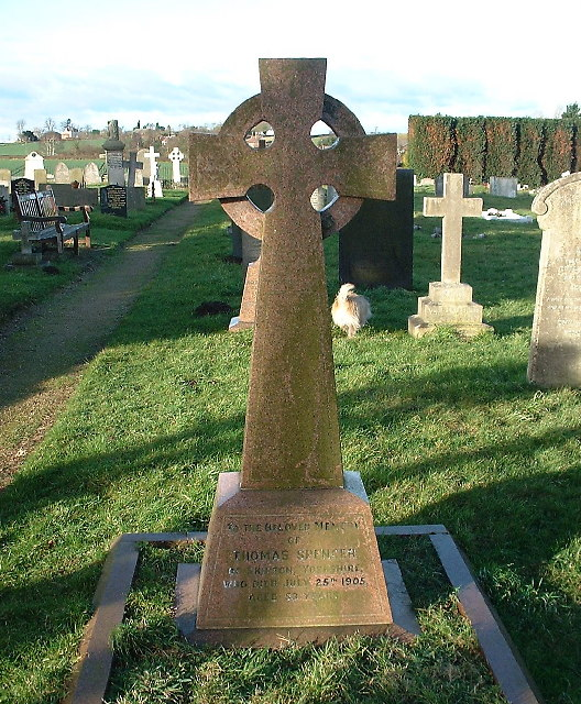 Gravestone of Thomas Spencer (of Marks and Spencer fame)