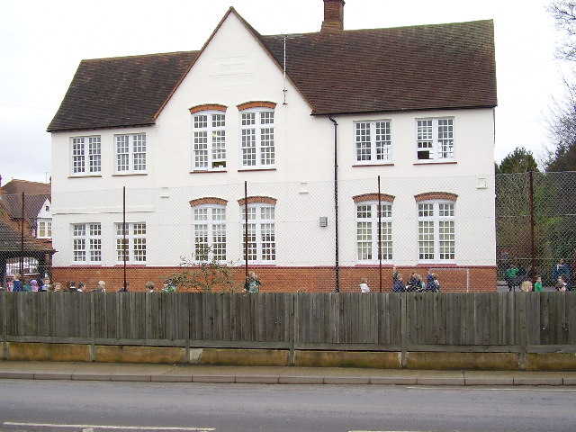 St.Joseph's Catholic Primary School, Dorking...looking East across Vincent Lane