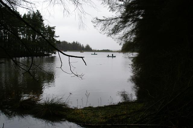 Anglers, Beecraigs Loch