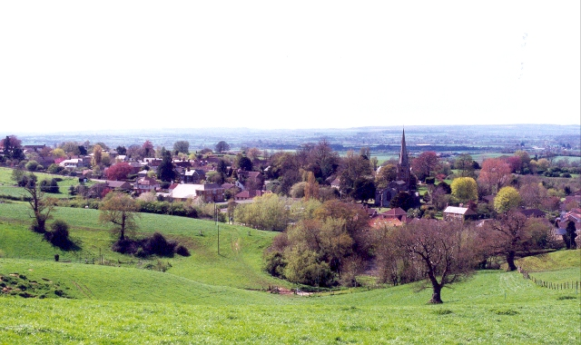 View towards Castle Cary