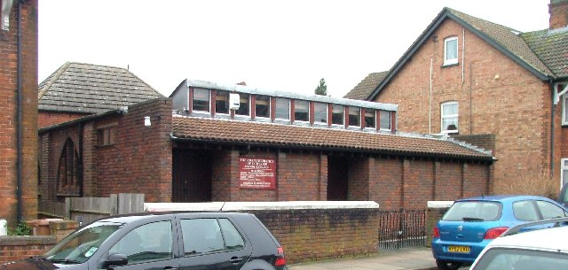 The Transfiguration of Our Lord  Catholic Church.  Grove Road Stevenage.