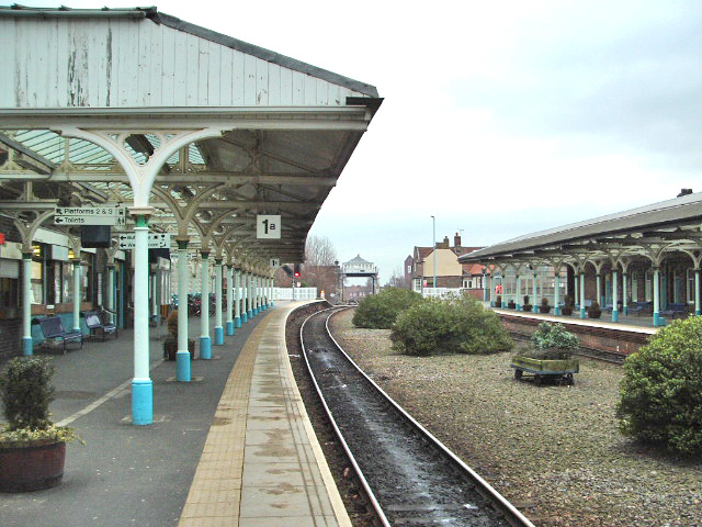 Selby Railway Station Looking North