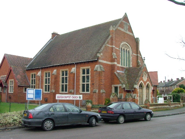 Bunyan Baptist Church.  Basil's Road, Stevenage.