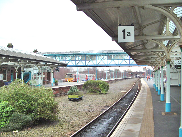 Selby Railway Station Looking South