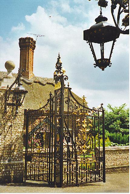 West Dean Park, The Gate