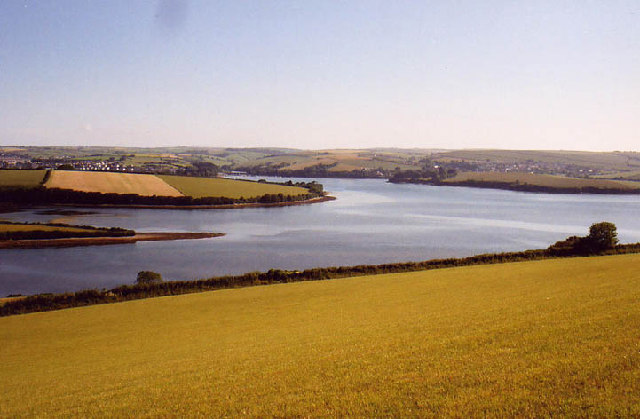 Rowden Point and Gerston Point, Kinsbridge Estuary