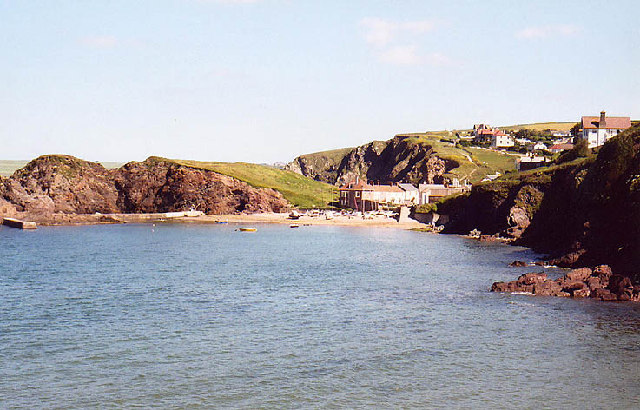 Hope Cove from footpath to Bolt Tail