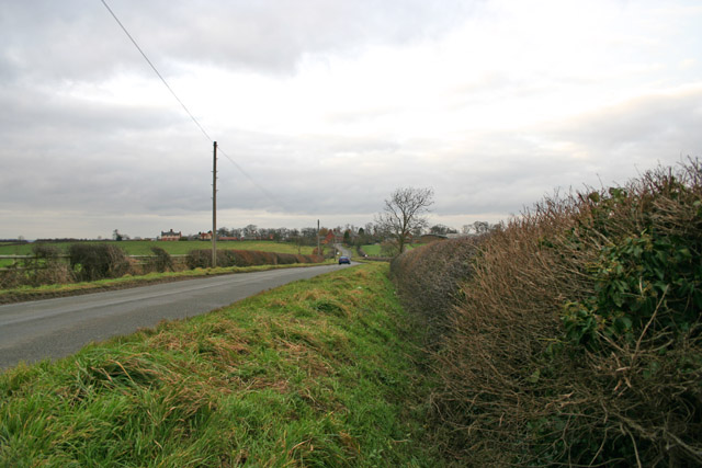 Countryside between Barkby Thorpe and Hamilton, Leicestershire