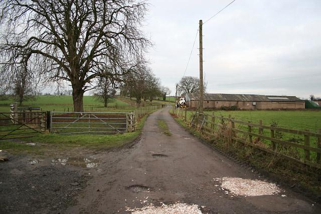 Farmland near Beeby House, Leicestershire
