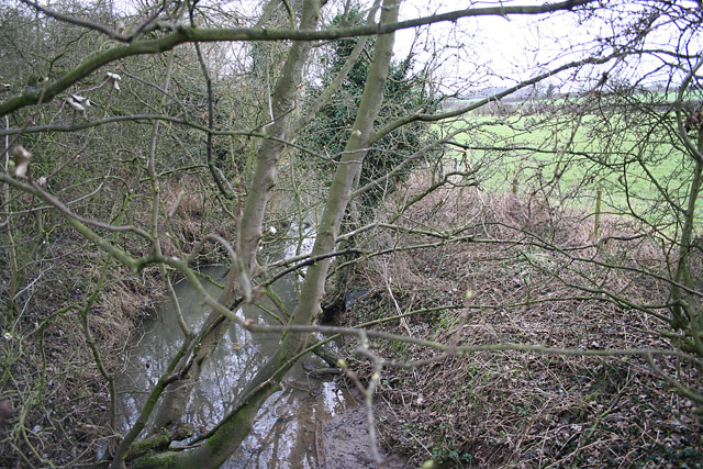 Barkby Brook near Beeby, Leicestershire