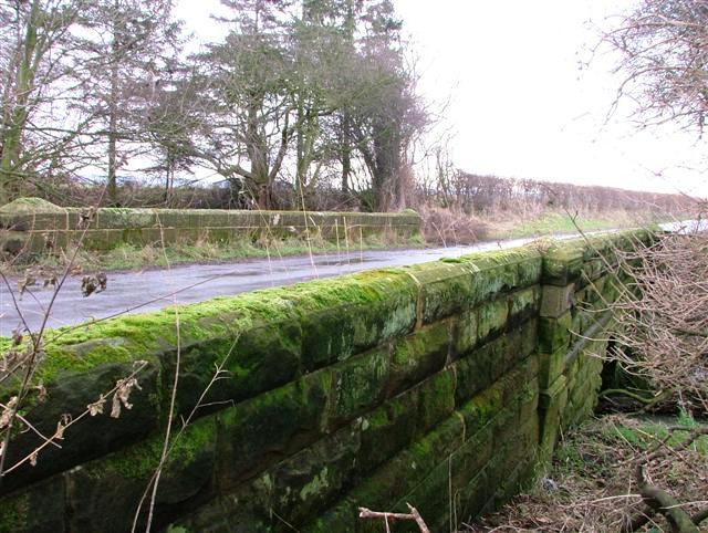Road Bridge Over Faceby Beck
