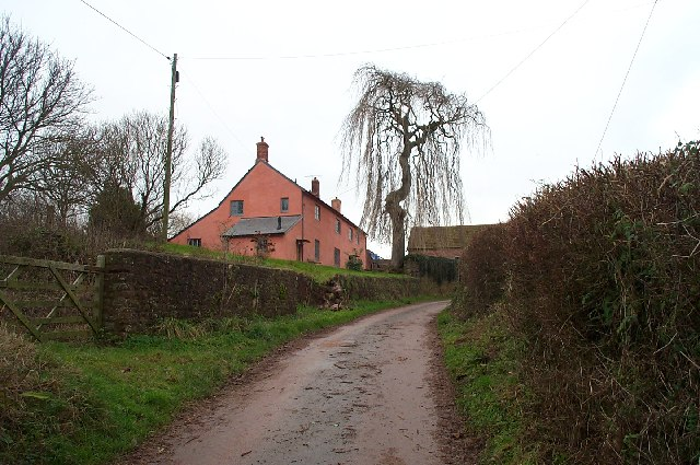 Preston Farm , south of Stogumber.