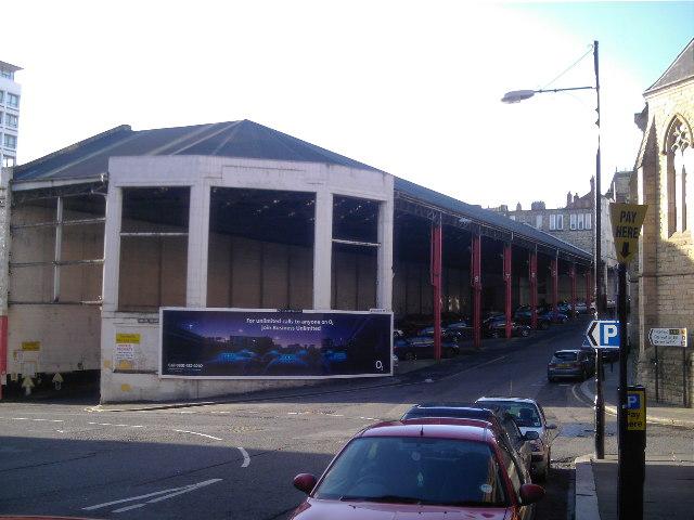 Worswick Street Bus Station