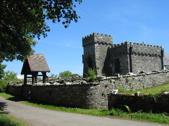 Kirkandrews - old church