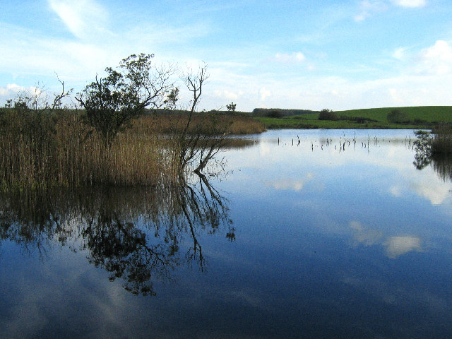 Small loch near Plunton Mains